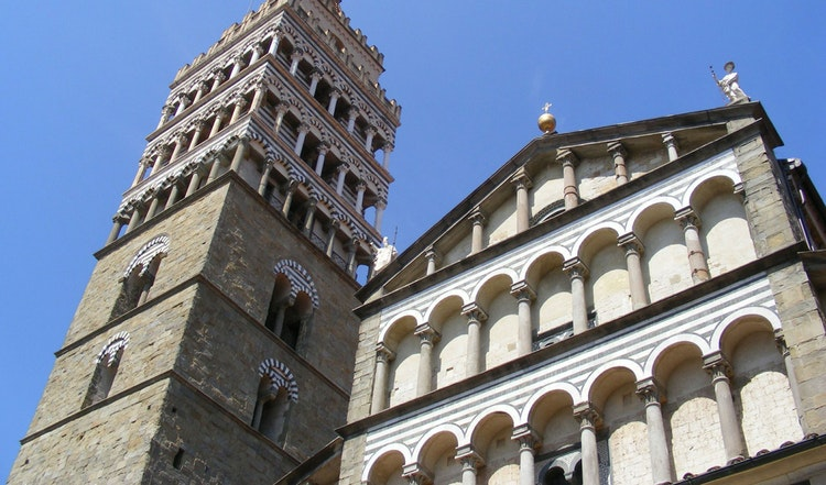 Romance in Tuscany: A stroll in the Pistoia